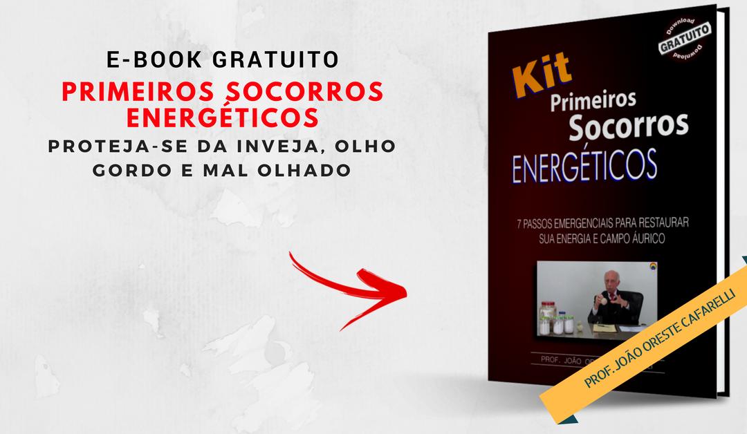 KITPRIMEIROS SOCORROS ENERGÉTICOS – E-BOOK